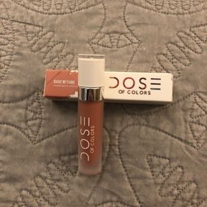 NWT Dose of Colors Matte Lipstick - Barr With Me